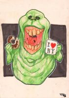Slimer by DenisM79