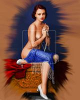 Girl With Pearls - Final by artroland