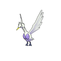 Shiny model of #581 Swanna from Pokemon X and Y by PokemonOnlineGames