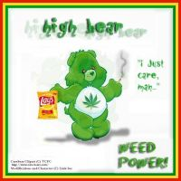 The New and Improved High Bear by Club-Marijuana