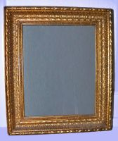 antique style gold frame 3 by clandestine-stock
