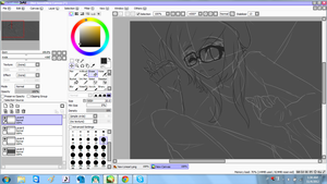 ::WIP:: Keii sketch by aexlyii