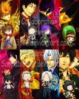 Katekyo Hitman Reborn Bookmark by sl33p1e