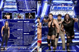 WWE SmackDown March 2013 DVD Cover by Chirantha