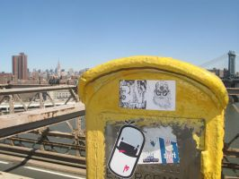 new york 3M was here by VIRGILE3MBRUNOZZI