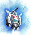 Wheeljack Watercolor by The-Starhorse