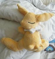 Jolteon Plush contest prize by zukori