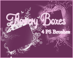 PS Flowery Boxes by Illyera