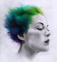 Psychedelic hair by SonOfImagination