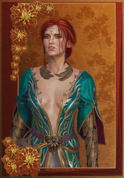 The Witcher 3: Triss by Nero749