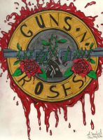 GUNS N' ROSES by S-Isabel