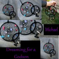 Michael's Dreamcatcher by LadyPirotessa
