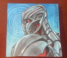 Age of Ultron Post-it Note Sketch by GuanlinChen