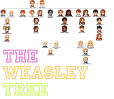 The Weasley Family Tree by narwhaled