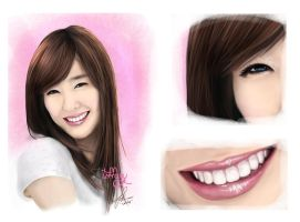 digital painting snsd by landycakep