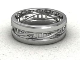 DNA mens ring by lupusk9