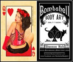 Shannon's Business Cards by Doubtful-Della