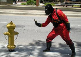 Pyro vs. Fire Hydrant: Round 2 by tehcate