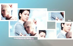 Wallpaper G-Dragon + TOP 11 by Atenais