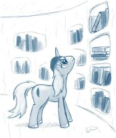 When you're at the library... by wdeleon