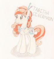 Tabitha St. Germain (Voice Actress) by BrogarArts