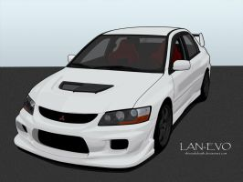 Lan-EVO 9 by shinoahdeath