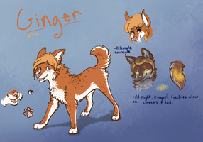 Ginger Ref eue by Verlidaine