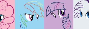 ponnies by awesomesauce842