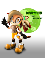 Marylin the Meerkat - Sonic OC by DragonsDravite