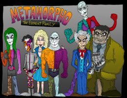 Metamorpho Element Family by Lordwormm