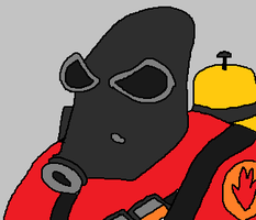 Pyro from Team Fortress 2 by holdypause