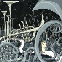 Trumpets in space by philippajudith