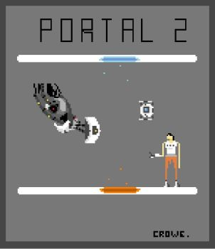 Portal 2 by crowecrowe