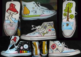 James birthday shoes by Lozzyboo