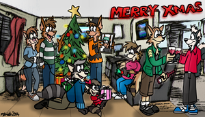 Xmas Transmission by FreyFox