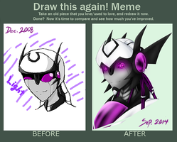 Before and after by Jasumina
