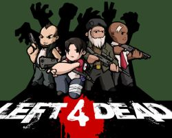 Left 4 Dead with color by Pyrotech07