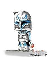 Lil Captain Rex by Tipsutora