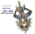 Aegislash - Alola Form by locomotive111