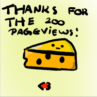 200 PAGEVIEWS!*-* by Ueggeu