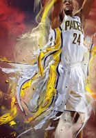 Paul George X NBA2K12 by relaurellano