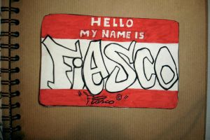 hello my name is FIASCO by markfrancis