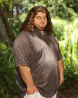Hurley from Lost by MigrantJ