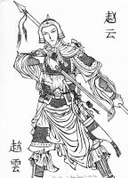 Zhao Yun by BlackKrogoth