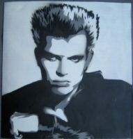 Billy Idol Stencil by kathadeusis