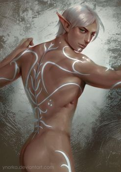 Fenris's back by ynorka