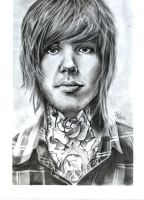 Oliver Sykes by tll-bam