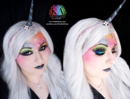 Unicorn Makeup with Tutorial by KatieAlves