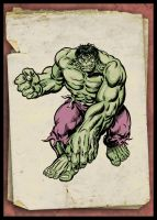 1970's Incredible Hulk by Simon-Williams-Art