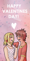 [APH] SpaBel Valentines by melonstyle